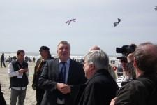Monsieur Frédéric Cuvillier Ministre des Transports de la Mer et de la Pêche