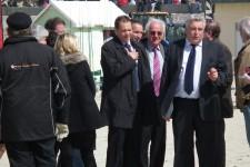 Monsieur Frédéric Cuvillier Ministre des Transports de la Mer et de la Pêche et Monsieur Jean-Marie Krajewski Maire de Berck
